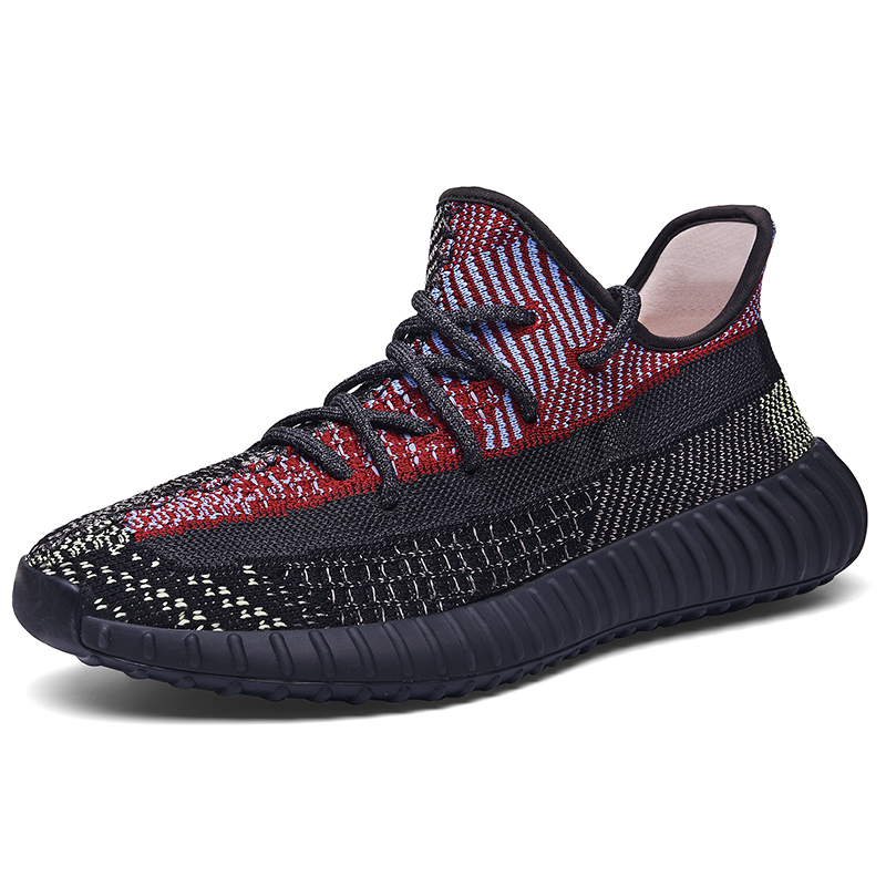 Luminous 2020 Summer Sneakers Breathable Men Casual Shoes Mesh Mens Luxury Branded Designer Male Rubber Sole Shoes Zapatillas 1