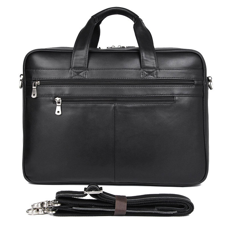HOT Selling Business Men's Leather Handbag Briefcase Nappa Leather Comfortable Textured Leather MEN'S Bag