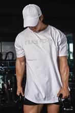 Camiseta de manga corta para hombre de camiseta de color slido con cuello redondo para hombre de Camiseta de algodón seré exteriores...