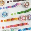 Mohamm 1Pc Obst Hard Candy Serie Dekoration Spezielle-Förmigen Washi Masking Tape Kreative Scrapbooking Stationäre Schule Liefert