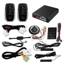 EASYGUARD CAN BUS plug and play PKE kit fit for toyota Corolla 2010-2019 push button start remote engine start passive keyles