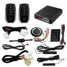 EASYGUARD magistrala can plug and play zestaw PKE pasuje do toyota HILUX FORTUNER 2016 do 2019 przycisk start zdalny, silnik start