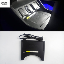 10W QI wireless charging phone charger fast charging plate panel phone holder for- HONDA HR-V HRV