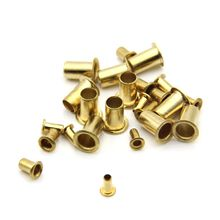 1000Pcs Tubular Rivets M0.9 M1.3 M1.5 M1.7 Mix Circuit Board PCB Nails Copper Hollow Riv