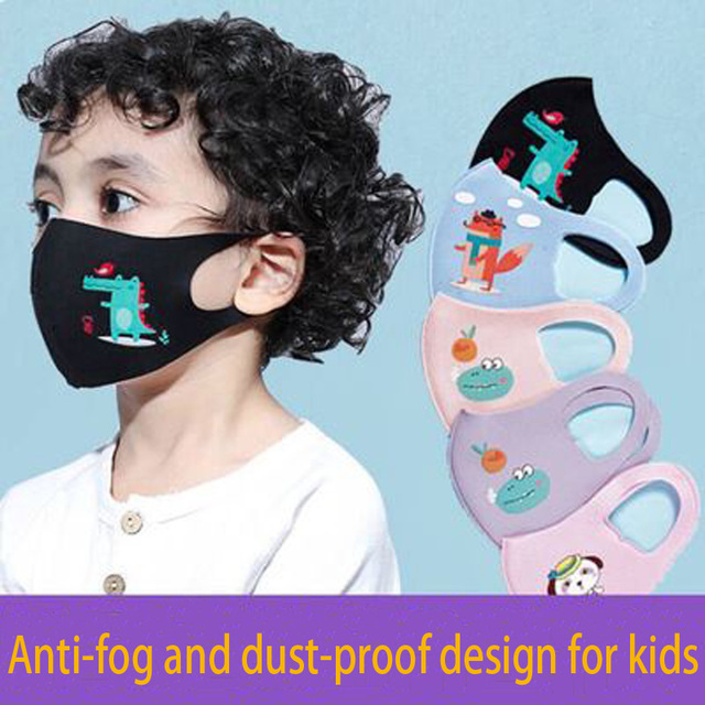 3pcs/lot Lovely Cartoon Masks for Kids Masks for Germ Protection Breathable Masks Masks for Face