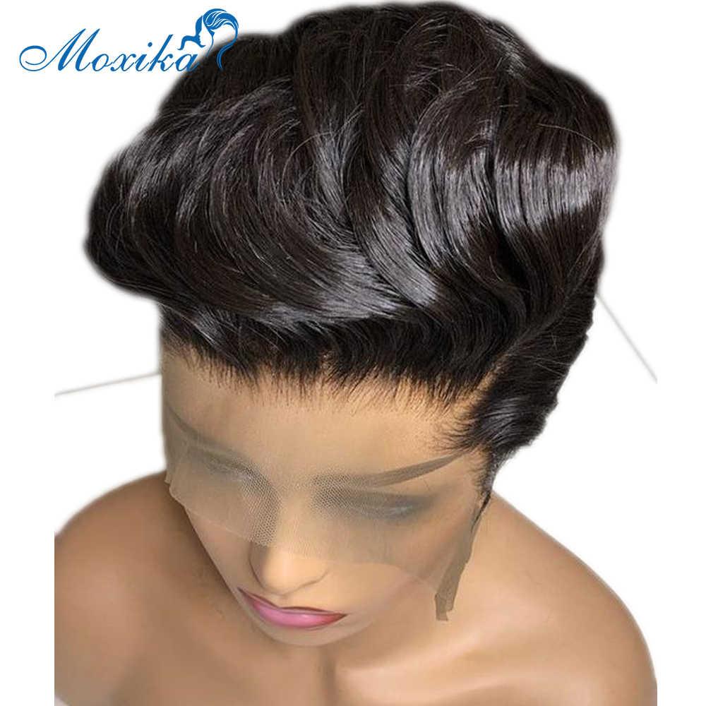 Pixie Cut Wig Brazilian Hair Wigs Bob Lace Front Wigs Straight Lace Front Wig Short Wigs Human Hair Pixie Cut Wig Human Hair Wig Human Hair Lace Wigs Aliexpress