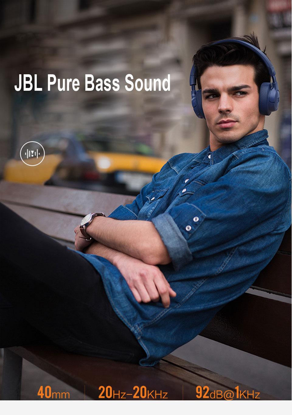 JBL TUNE 750BTNC Wireless ANC Headphones 9