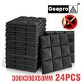 Geepro 300x300x50mm Akustische Schaum Schallschutz Akustische Panel Noise Isolation für Studio Schall Schaum Akustische Isolator
