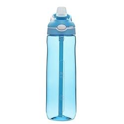 Rower 750Ml słomiane butelki sportowe Tritan butelki sportowe nietłukące i szczelne niebieskie|Butelki sportowe|   -