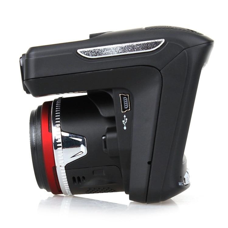 2 In 1 Anti Laser Rilevatore di Auto Dash Cam Car DVR Registratore Della Macchina Fotografica 140 Gradi Dashcam HD 720P Inglese e Russo di Voce - 5