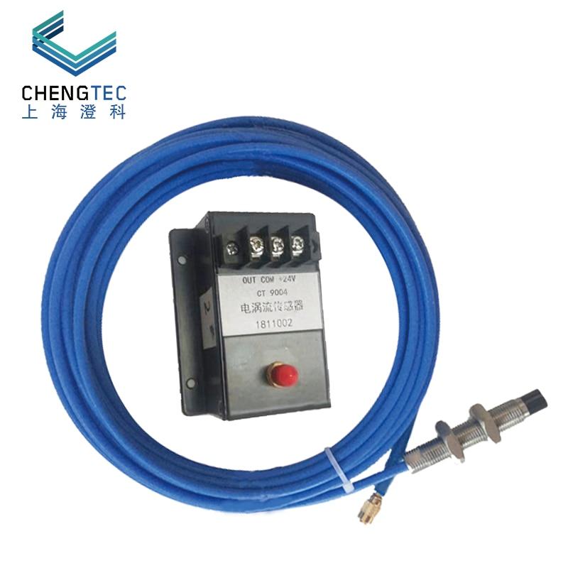 Capteur de déplacement de courant de foucault 9004 2-/+ 2% MV/um, sonde 14mm