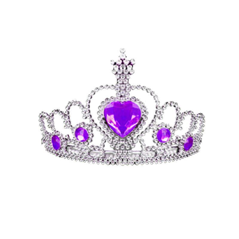 Crown headband children/'s headdress ice magic wand prop hair accessories