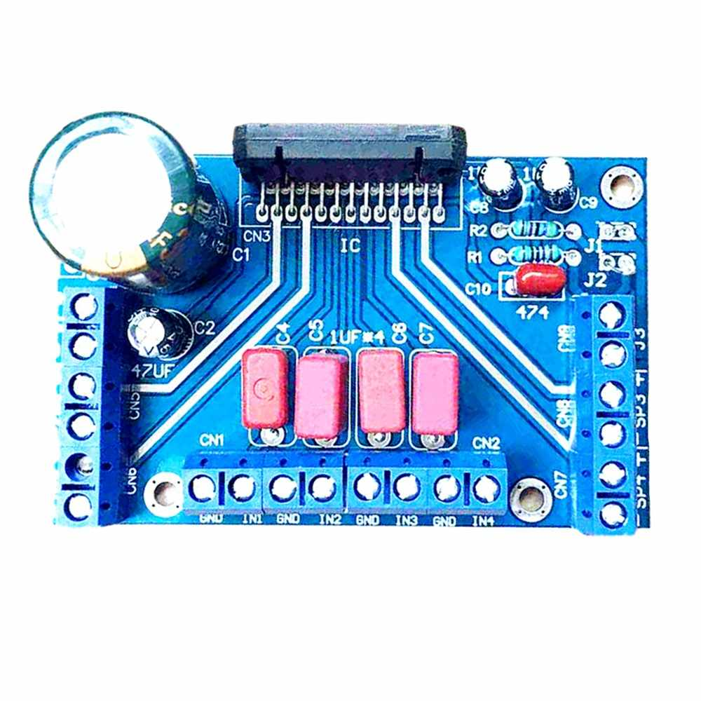 DIY kit teile TDA7388 4 Kanal 4x41 W Audio Power Verstärker Platine BTL PC Auto Amp