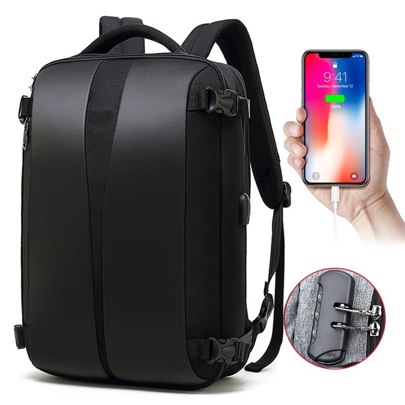 Anti Theft Backpack 17 Inch Laptop Bagpack Men USB Charging Bag Backpacks For Man Mochila Waterpoorf Travel Back Pack School Bag