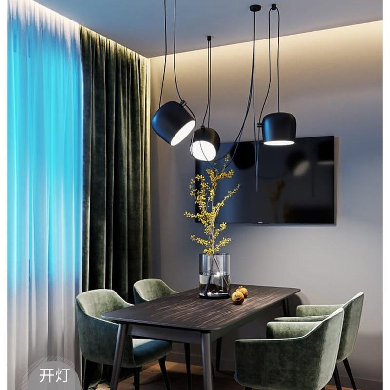 Variable Design Modern Spider Industrial Pendant Lights For Diving Room/Restaurants Kitchen Pendant Lamps E27 Fixtures LED Lamp