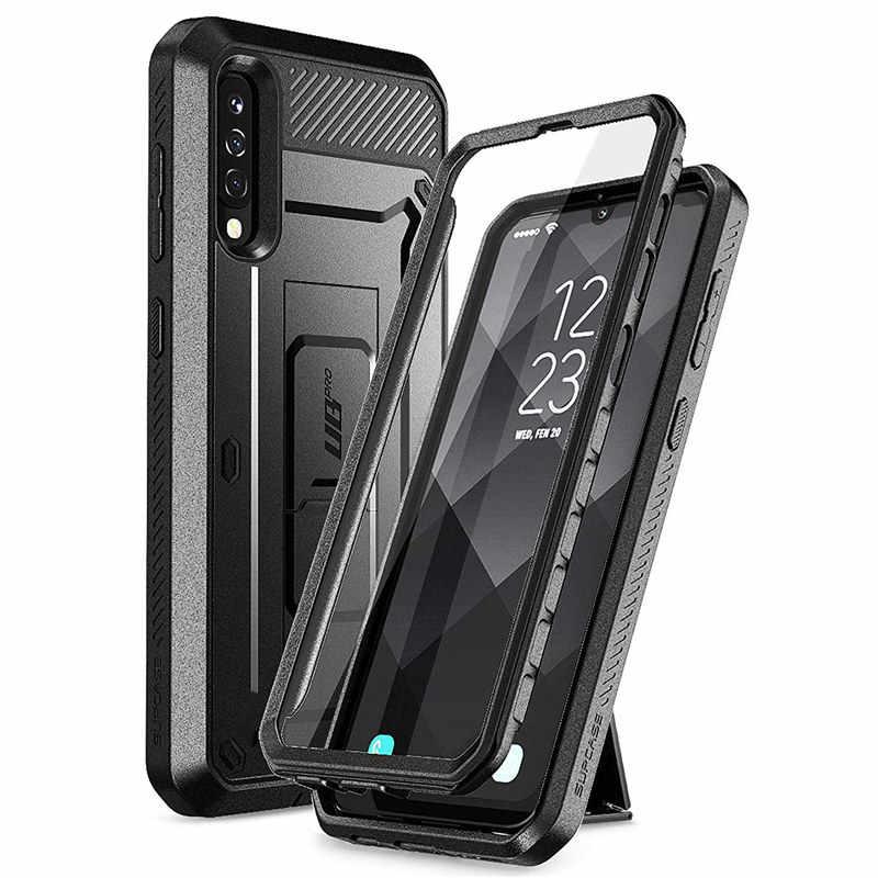 BẢO VỆ SUPCASE Cho Samsung Galaxy A50 (Phát Hành năm 2019) UB Pro Full-Cơ Thể Chắc Chắn Bao Da Ốp Lưng Tích Hợp Bảo Vệ Màn Hình & Chân Đế
