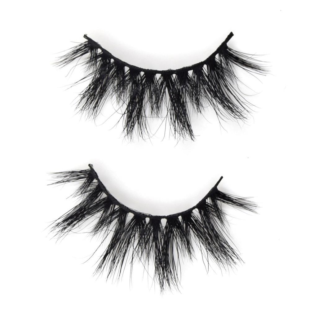 Visofree 3D Mink Lashes Mink Eyelashes Cruelty Free Handmade False Eyelashes Cross Thick Eyelashes Makeup Beauty Faux Cils K02 in False Eyelashes from Beauty Health