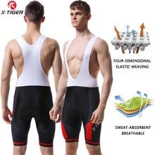 Shorts de cyclisme pour hommes, collants de vélo respirants et rembourrés en Gel 5D, Triathlon Pro lycra
