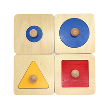 цена на Toddler Stacking Wooden Game Sorting Non Toxic Block Toy Geometric Figure Funny Board Educational Smooth Shape Color Preschool