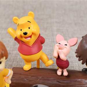 Image 4 - 7pcs Disney toy Winnie the Pooh Tigger Jouet doll PVC action figures collect model toys Christmas birthday gift for kid 14DX