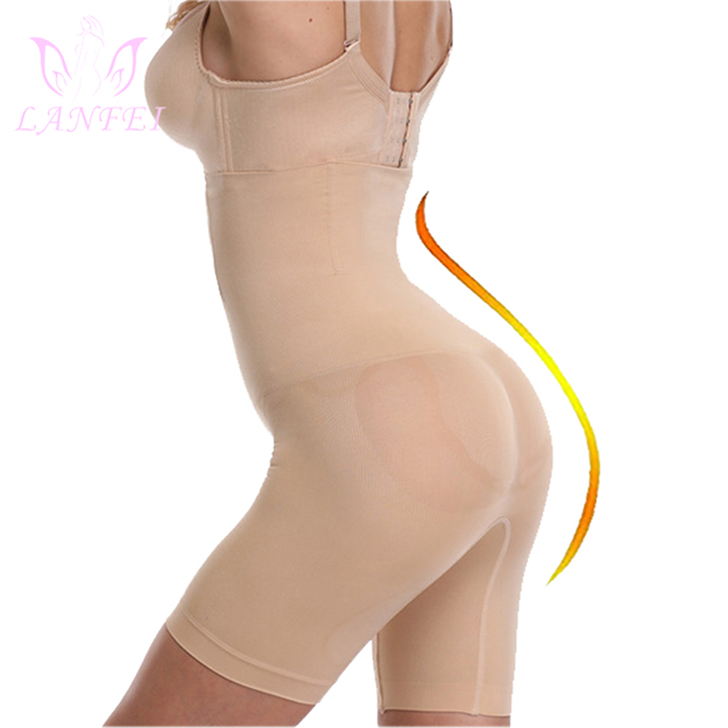LANFEI Waist Trainer Control Panties for Women Hign Seamless Body Shaper Tummy Slimming Pants Breathable Shapewear