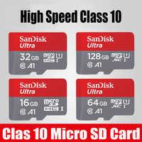Original Micro SD 256GB 128GB 64GB 32GB TF USB carte mémoire Flash USB 3.0 Class10 UHS-1 Microsd Cartao De Memoria avec adaptateur