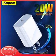 Carga rápida 3.0 qc pd carregador 20w 18 qc3.0 usb tipo c carregador rápido para iphone 12 x xs 8 xiaomi samsung huawei telefone pd carregador
