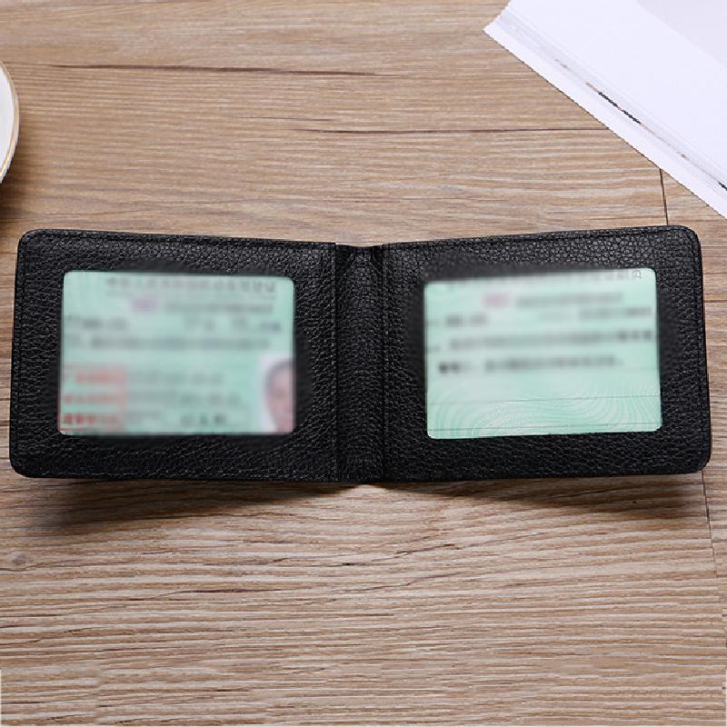 Ultra cienka torba na prawo jazdy kierowcy samochodu PU na okładce do dokumentów jazdy samochodem etui na dowód osobisty portfel etui na portfel etui na prawo jazdy