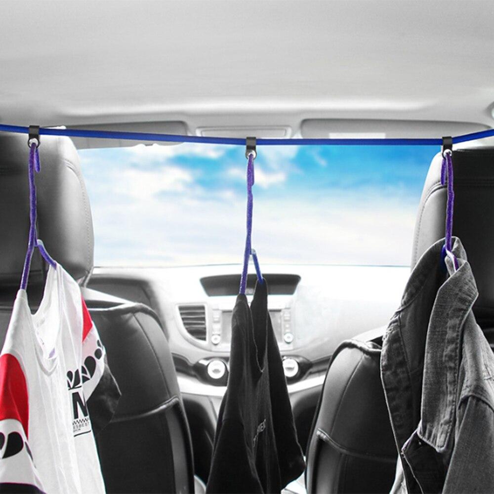 Регулируемые автомобильные эластичные шнуры, багажные ремни, натяжные ремни, веревки с крючками, Прямая поставка N14
