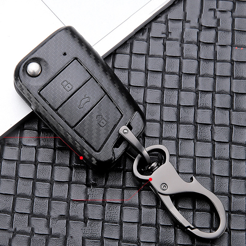 ABS Scrub Car Key Cover For VW Golf 7 Bora Jetta POLO GOLF Passat Skoda Octavia A7 Fabia SEAT Ibiza Leon MK7 Key Protaction Case