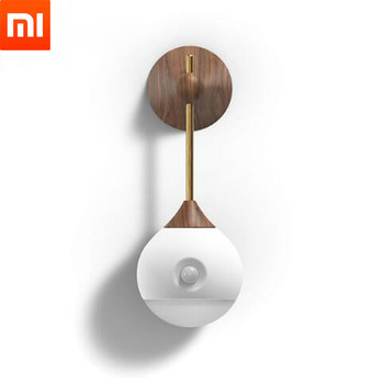 Xiaomi Sothing Night Light Lamp Smart Sensor Portable Infrared Induction USB Charging Removable Night Bulbs Xiaomi Smart Home