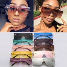 Wholesale Oversized One Piece Shield Sunglasses For Women Ne