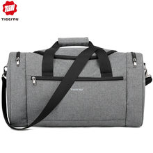 Tigernu 2019 New Large Capacity Travel Bag Men Multifunction Handbag With Shoulder Strap Waterproof High Quality Casual Bag Male(China)