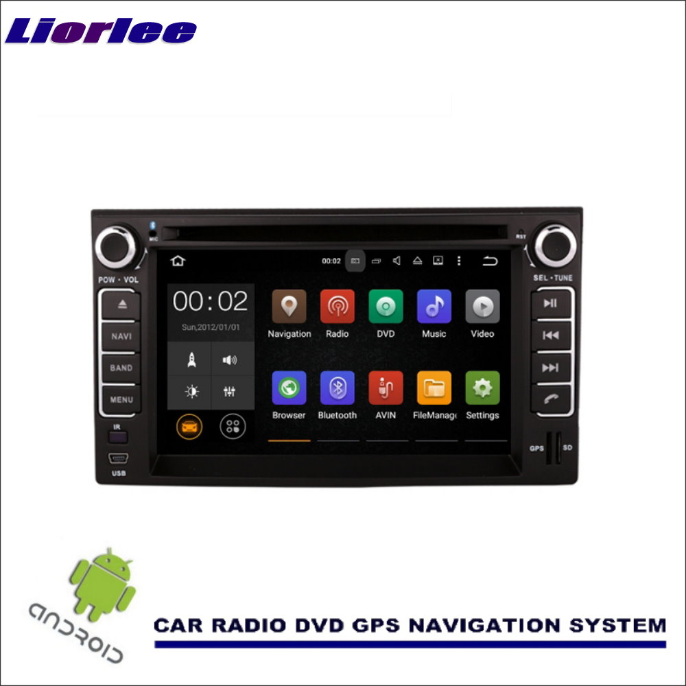 Liorlee For Kia Pride Sedan 2005-2011 Wince / Android Car Media Navigation CD DVD GPS Player Navi Radio Stereo Multimedia TV BT
