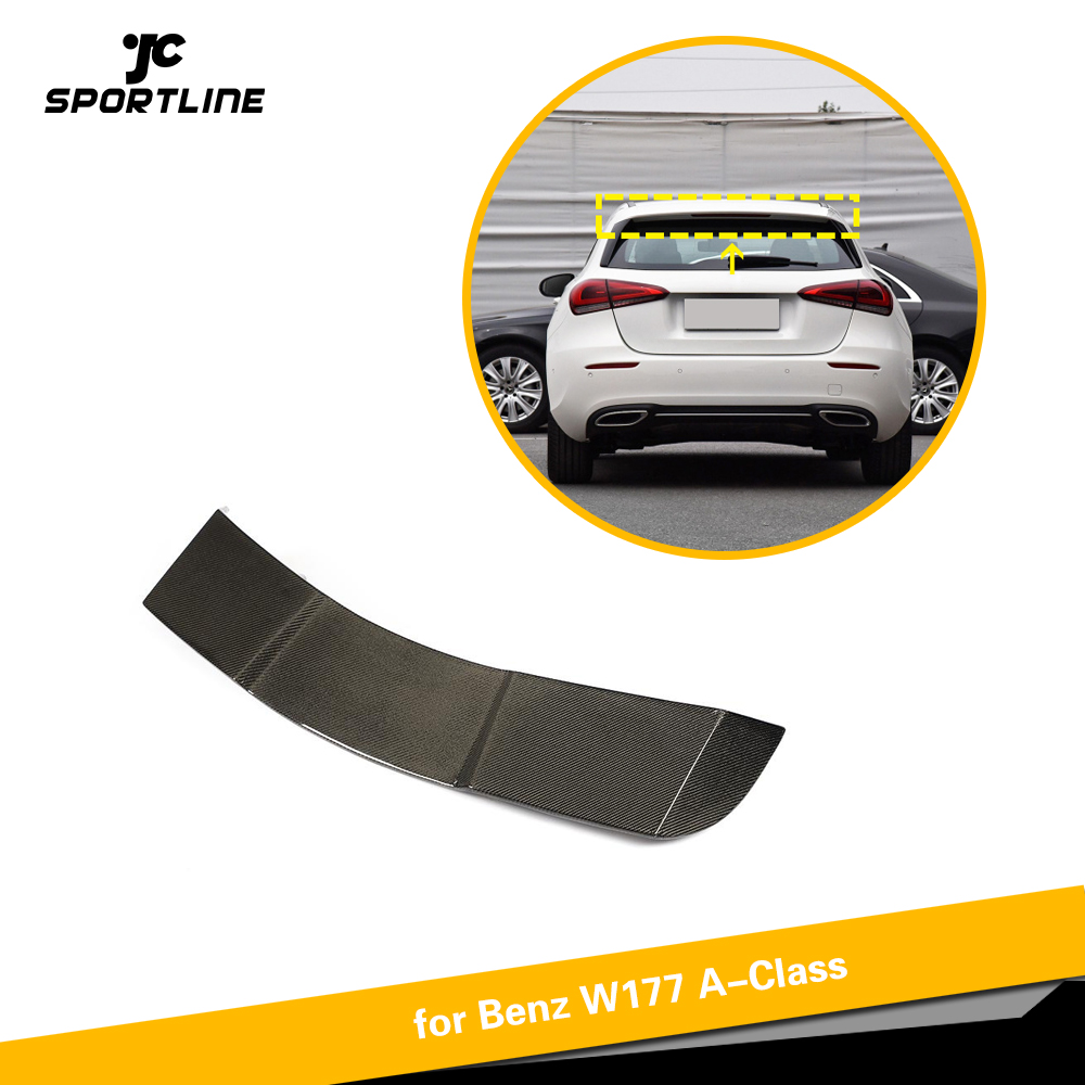 Jcsportline Carbon Fiber Rear Roof Lip Spoiler Wing