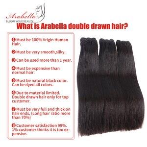 Image 3 - כפול נמשך ישר שיער Weave חבילות Vrigin הארכת שיער טבעי צבע עבה מסתיים שיער חבילות עבור לקוחות ברמה גבוהה