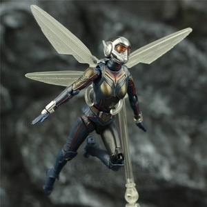 "Image 5 - ハチ 6 ""アクションフィギュアantman 2 アリ男と継続を女性ナディアkoのshf endgame伝説復讐おもちゃ人形"