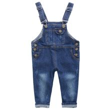 Kids Baby Long Pant Jeans Overalls Spring Autumn New Children Casual Kids Girls Baby Boy Denim Jumpsuit Clothes Clothing