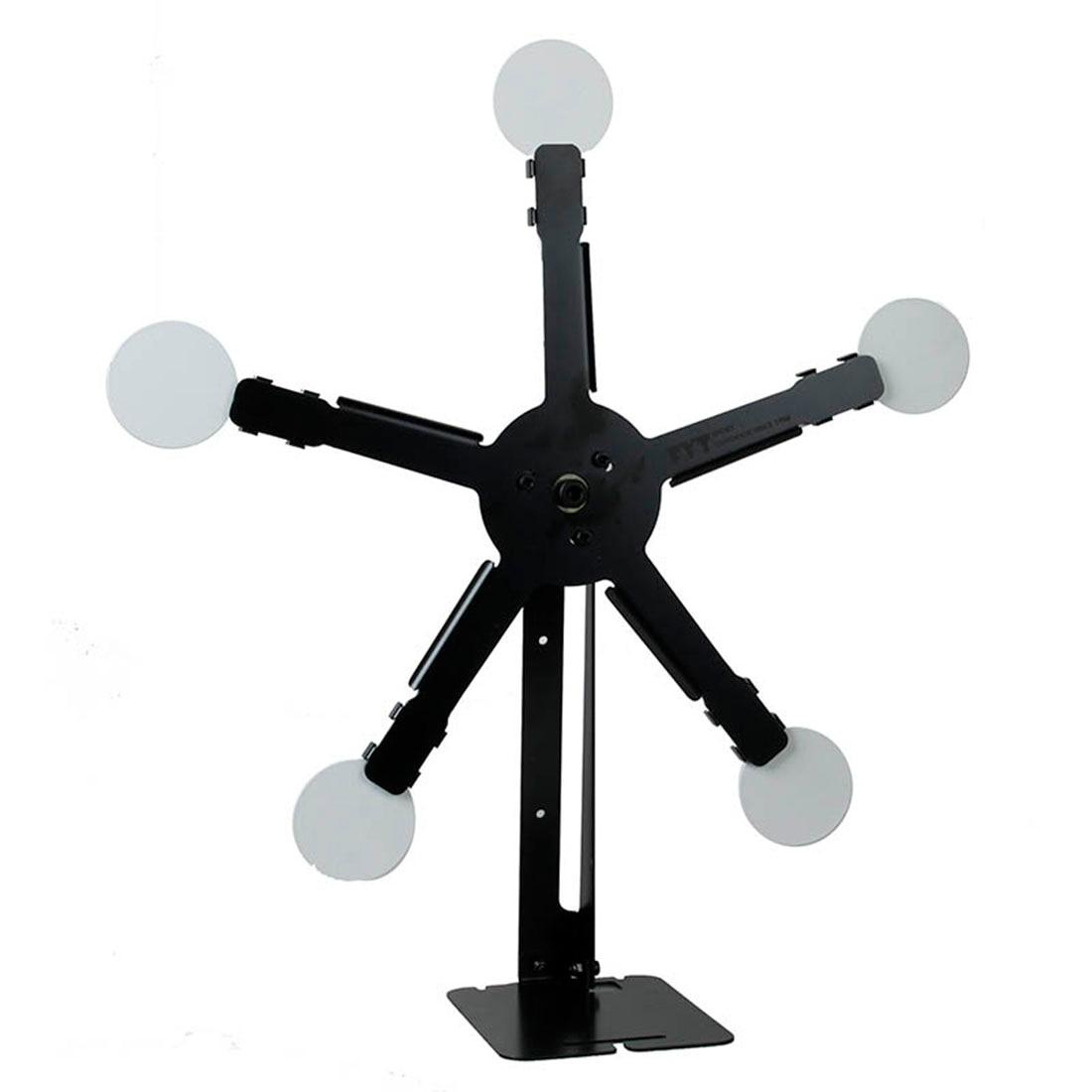 Rotating Target Metal Round Target For Foam Darts Water Gel Beads Training