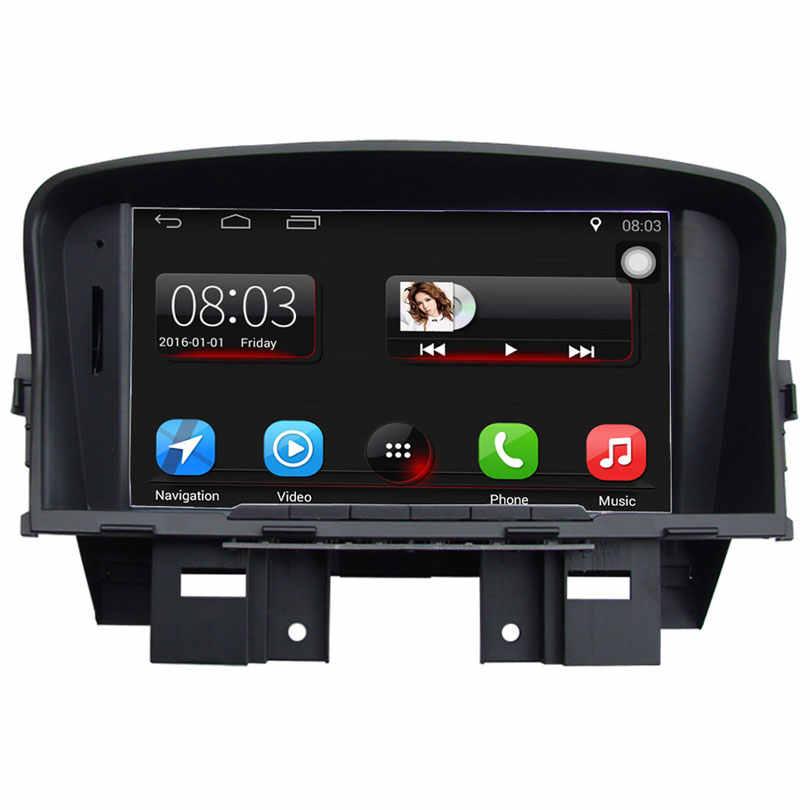 アップグレードオリジナルカーマルチメディアプレーヤーカー GPS ナビゲーションスーツは、シボレークルーズサポート WiFi スマートフォンミラーリンクの bluetooth
