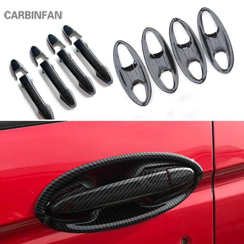 ABS Carbon Fiber ABS Shift Head Knob Trim Cover Handle Sticker Decoration Fit for Lexus IS250//350//200T 2014-2017 Interior Parts
