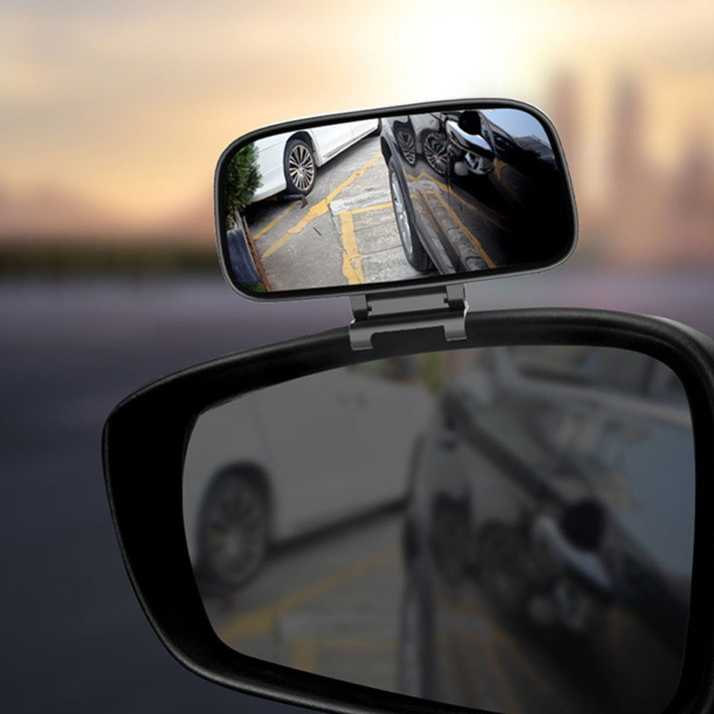Rotation Adjustable Rearview Mirror Wide Angle Lens Car Blind Spot Mirror 3