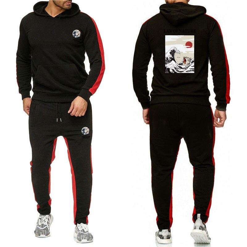 Men's Casual Hot Selling Hoodie Suit Men Slim Fit Hip Hop Joint Western Style Hoodie