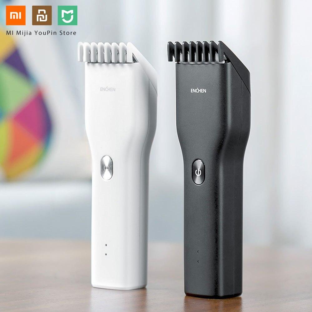 Xiaomi Enchen Boost в наличии USB электрическая машинка для стрижки волос с двумя скоростями Керамический Резак для волос быстрая зарядка триммер для волос для детей|Смарт-гаджеты|   - AliExpress