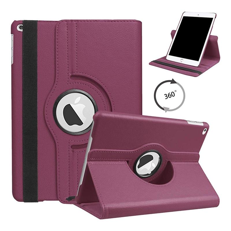 10.2 PURPLR Purple Tablet Case for ipad 10 2 2019 Folio Cover Case for Apple Ipad 7 7th 10