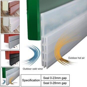 Nuevo 1 ud. Tope y bloqueador de burlete inferior de silicona, aislamiento de ruido y prevención de insectos