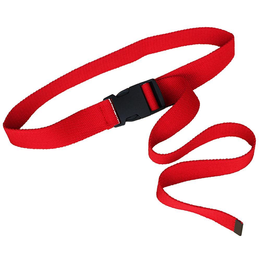 Nylon Canvas Women's   Belt   Fashion Canvas   Belt   Plastic Hole Buckle Plastic Buckle Tactical   Belt   120CM Adjustable   Belt   Female