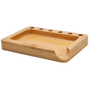 COURNOT Bamboo Rolling Trays Case With Cigarette Paper Cone Holder Bamboo Rolling Trays Tool Cigarette Machine Accessoires