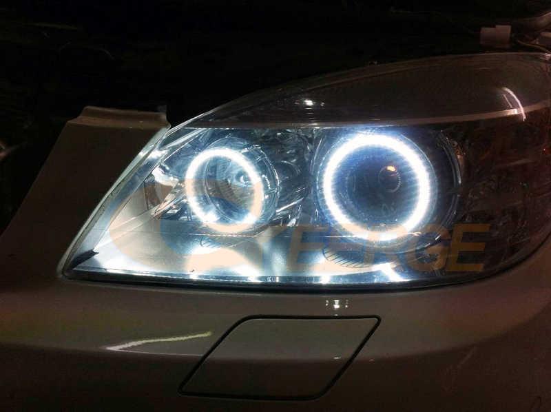 Für MERCEDES BENZ C Klasse W204 C204 S204 C300 C350 C63 2007-2011 Xenon HD Ausgezeichnete Ultra helle COB led angel eyes halo ringe