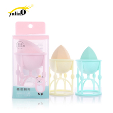 Get more info on the YALIAO Gourd Shape Foundation Sponge Makeup Puff Powder Bb Cream Cosmetic Puff Beauty Tools With Puff Display Stand Beauty Tools